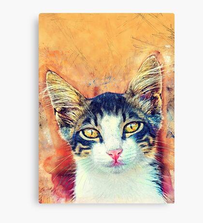 Cat Jacky Canvas Print