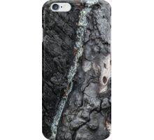 Tree bark after bush fire iPhone Case/Skin