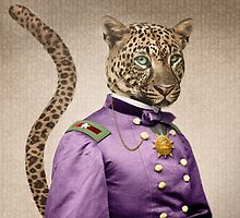Grand Viceroy Leopold Leopard by PETER GROSS