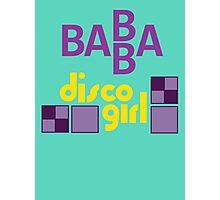 BABBA - Disco Girl Photographic Print