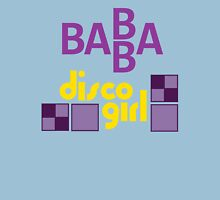 BABBA - Disco Girl Womens Fitted T-Shirt