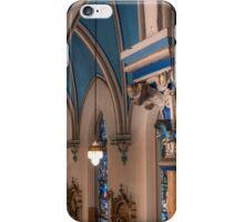 Gothic Columns, Visitation BVM, Philadelphia iPhone Case/Skin