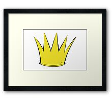 Where the Wild Things Are - Crown 2 Cutout Framed Print