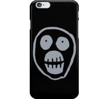 The Mighty Boosh – Big Mask (Grey) iPhone Case/Skin