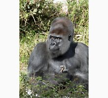 """A gorilla """"Silver Back"""" (11 c) (h) who is the star of the day .... Unisex T-Shirt"""