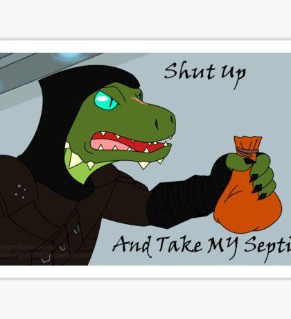 Take My Septims Sticker