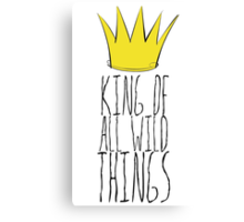 Where the Wild Things Are - King of All Wild Things 2 Cutout  Canvas Print