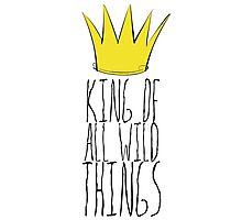 Where the Wild Things Are - King of All Wild Things 2 Cutout  Photographic Print