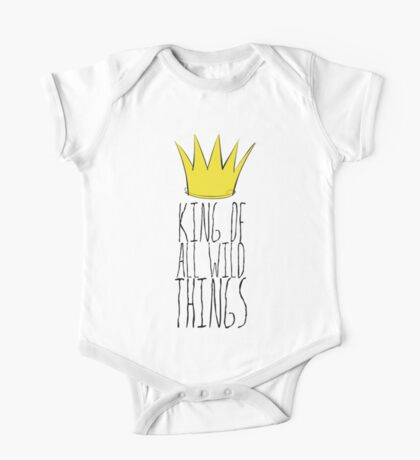 Where the Wild Things Are - King of All Wild Things 2 Cutout  One Piece - Short Sleeve