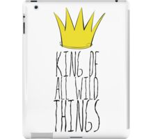 Where the Wild Things Are - King of All Wild Things 2 Cutout  iPad Case/Skin