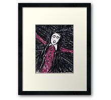 Shreiking Henrietta Framed Print