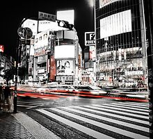 Shibuya Madness by xDenisx