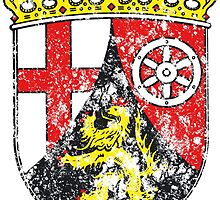 Coat of arms of Rhineland Palatinate by wtaylor72