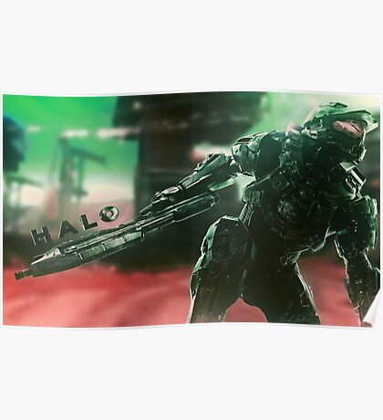 Master Chief Poster Poster