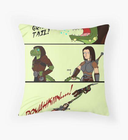 Grab My Skyrim Throw Pillow