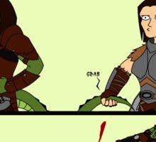 Grab My Skyrim Sticker