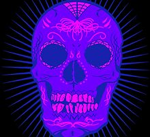 Calavera Skull by joebarondesign