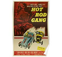 Grindhouse Lounge presents: Hot Rod Gang movie poster Poster