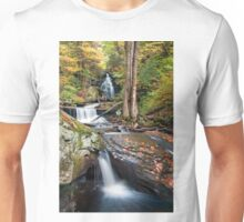 Gazing Up At Ozone Falls In Autumn Unisex T-Shirt