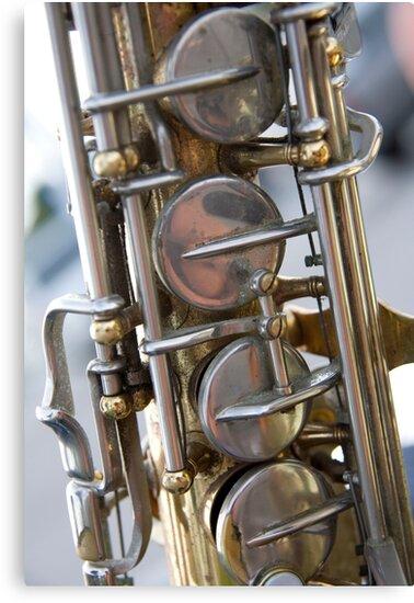 Vintage Sax by phil decocco