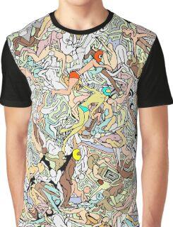 Martians Invasion Graphic T-Shirt