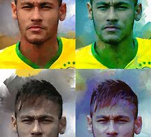 Neymar four by bogfl