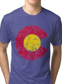 Colorado C  Tri-blend T-Shirt