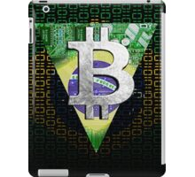 bitcoin Brazil iPad Case/Skin
