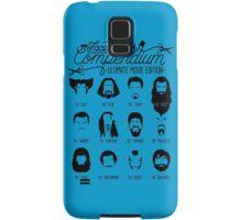 Movie Facial Hair Compendium Samsung Galaxy Case/Skin
