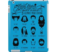 Movie Facial Hair Compendium iPad Case/Skin