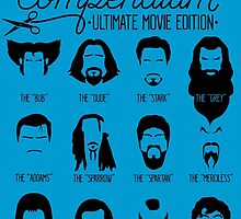 Movie Facial Hair Compendium by RetroReview