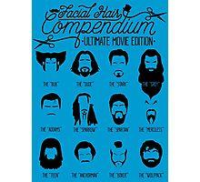 Movie Facial Hair Compendium Photographic Print