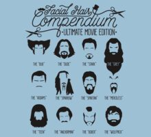 Movie Facial Hair Compendium Kids Clothes