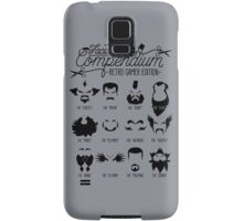 The Gamer Facial Hair Compendium Samsung Galaxy Case/Skin