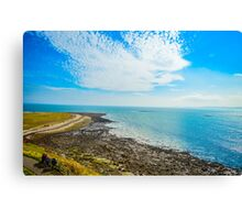 Blue Sky Sea Canvas Print