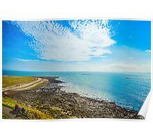 Blue Sky Sea Poster