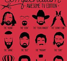 TV Facial Hair Compendium by RetroReview