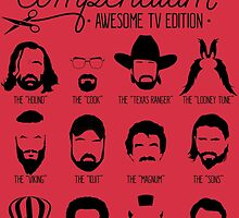 TV Facial Hair Compendium by RetroReview