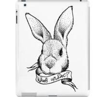 Bunny! iPad Case/Skin