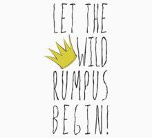 Where the Wild Things Are - Rumpus Begin Crown Cutout Kids Clothes