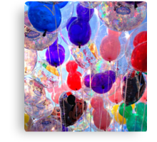 The Happiest Balloons on Earth Canvas Print