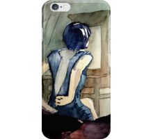 maybe she was more cat than human, she thought iPhone Case/Skin
