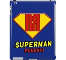 SUPERMAN PUNCH iPad Case/Skin