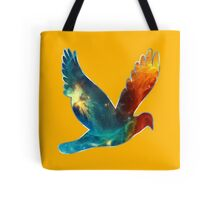 Space Bird, Universe, Galaxy, Cosmos Tote Bag