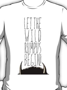 Where the Wild Things Are - Rumpus Begin Cutout T-Shirt