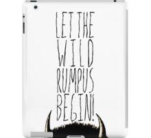 Where the Wild Things Are - Rumpus Begin Cutout iPad Case/Skin