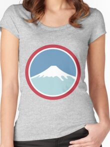 Mount Fuji Women's Fitted Scoop T-Shirt