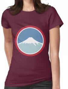 Mount Fuji Womens Fitted T-Shirt