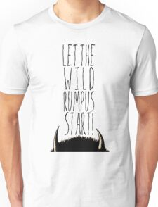 Where the Wild Things Are - Rumpus Start Cutout Unisex T-Shirt