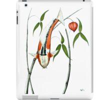 Japnese Koi Shuisui Chinese Lantern painting iPad Case/Skin